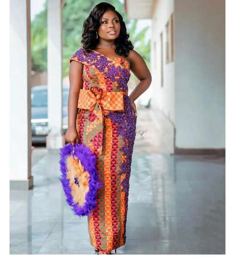 check out some beautiful Kente with Lace combinations you can wear for all occasions (photos) 7